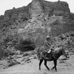 Tiziano Terzani, T.T.a cavallo sull'altopiano del Mustang