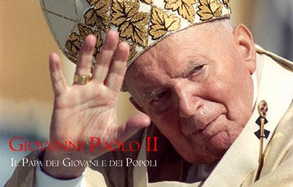 Logo mostra Giovanni Paolo II, il papa dei giovani e dei popoli