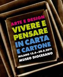 Vivere e Pensare in Carta e Cartone tra Arte e Design