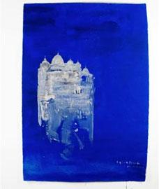 Piero Pizzi Cannella, Blu, 2009-10