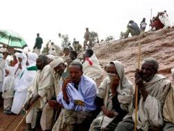 Massimo Bargna, Gruppo di pellegrini a Lalibela Etiopia