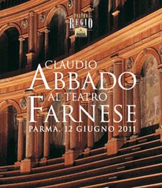 Claudio Abbado al Teatro Farnese di Parma