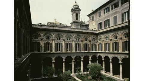 Roma, Palazzo Doria Pamphilj - Il cortile