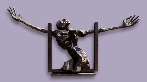 Nag Arnoldi, IlMiracolo, 2008, h 250 cm