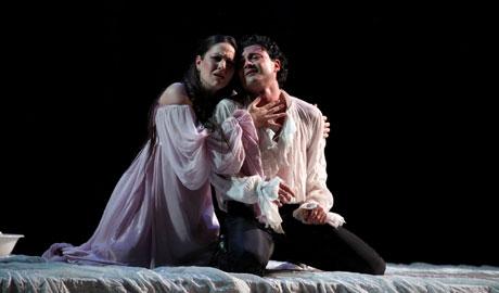 Vittorio Grigolo (Roméo) e Nino Machaidze (Juliette)