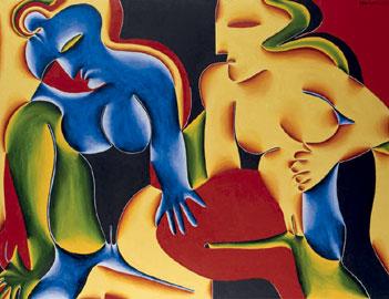 Fritz Baumgartner, L'astrazione
