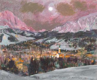 Natale Addamiano, La luna e Cortina, 2010