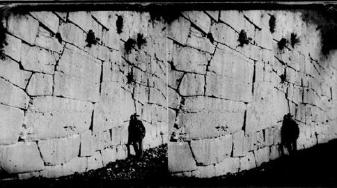 Mariano Guardabassi davanti alle mura di Amelia - 1861