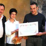Consegna riconoscimento agli artisti Bianco - Valente - Foto di Diego Pirozzolo