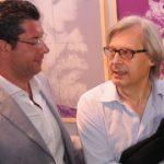 Giuseppe Scopelliti e Vittorio Sgarbi - Foto di Diego Pirozzolo
