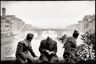 Leonard Freed Firenze, 1958 © Leonard Freed - Magnum (Brigitte Freed)