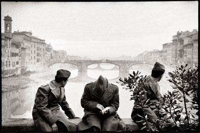 Leonard Freed Firenze, 1958 © Leonard Freed - Magnum (Brigitte Freed)