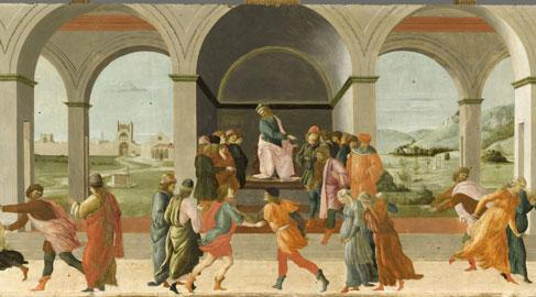 Filippino Lippi, Storia di Virginia, 1470-1480 circa, Parigi, Musée du Louvre - Département des Peintures, Credit : © RMN / Stéphane Maréchalle / distr. Alinari