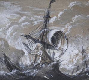 Galee, navi e vascelli nei disegni di grandi artisti del passato