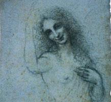 Leonardo Da Vinci, L'Angelo Incarnato - recto