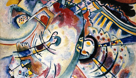 Kandinsky, W., The Abstract, October 191, Oil on canvas, 50x60