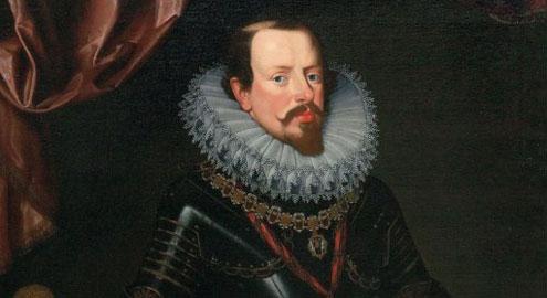 Ritratto di Vincenzo Gonzaga, olio su tela