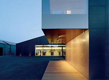 Architetti: feld 72, Progetto: Winecenter Caldaro © Hertha Hurnaus