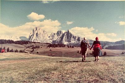 Luigi Ghirri, Alpe di Siusi (Ortisei), 1979, Istituto Nazioanle per la Grafica, Fondo fotografia contemporanea