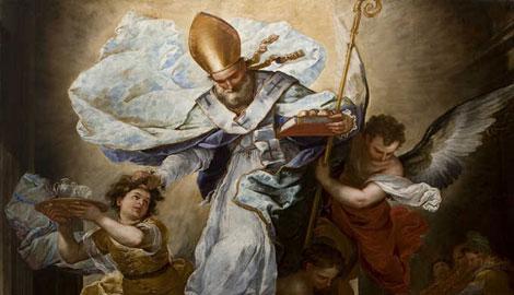 Miracolo di San Nicola di Bari, Luca Giordano, particolare