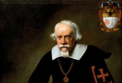 Carlo Ceresa, Visione di san Felice da Cantalice con il donatore, Nese - Chiesa S. Giorgio, Foto Marco Mazzoleni, particolare