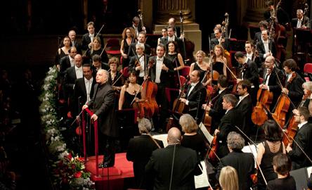 Baremboim, Filarmonica della Scala, foto di Silvia Lelli