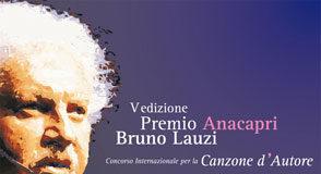 Locandina del Premio Anacapri Bruno Lauzi – Canzone d'Autore 2012