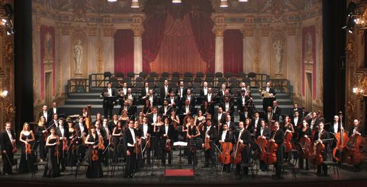 Orchestra del Teatro Regio di Parma, foto Roberto Ricci