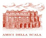 Logo amici della Scala