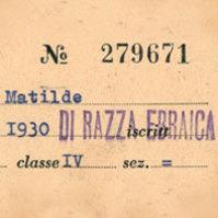 1938-1945. La persecuzione degli ebrei in Italia. Documenti per una storia