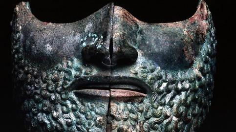 Visiera in bronzo, Musei Vaticani