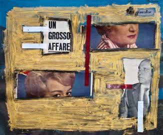 Elisa Abela, Un grosso affare, 2012, collage
