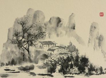 Robert Faure, Hameau du Sichuan