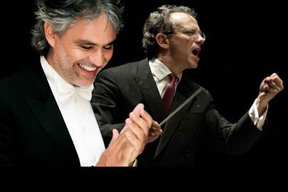 Andrea Bocelli e Fabio Luisi