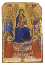 Piccola Maestà di Ambrogio Lorenzetti