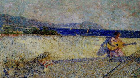 Plinio Nomellini: Il Golfo di Genova