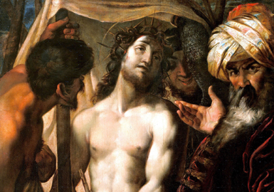 Ecce Homo di Giulio Cesare Procaccini, particolare