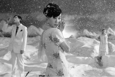 Yang Fudong, Yejiang / The nightman cometh, Film Still, Edition of 10, Video Video (35mm b&w film transferred to HD, 5.1 sound track. music : Jin Wang), 19 minutes 21 seconds, 2011