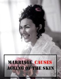 Ciriaca+Erre, Marriage causes ageing of the skin, 2010, cm 300x200, stampa fotografica su tappeto © Ciriaca+Erre
