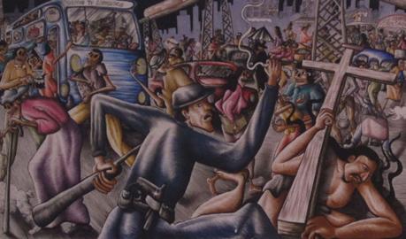 Opera di Nicolás de Jesús, particolare