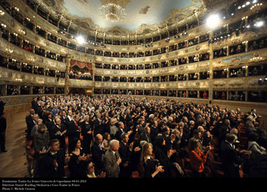 Teatro La Fenice interno della sala - Photo Michele Crosera