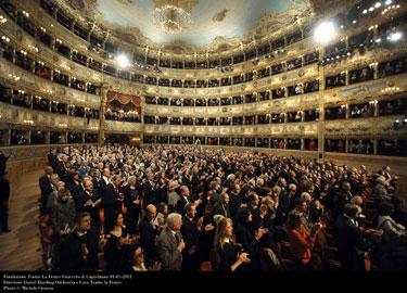 Teatro La Fenice interno della sala - Photo Michele Crosera