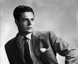 Marcello Mastroianni, 1950 circa