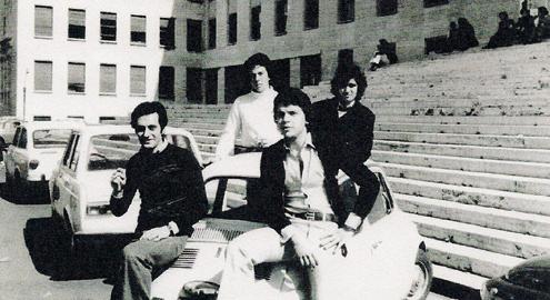 Il Sottosegretario di Stato Antonio Catricalà durante gli studi universitari