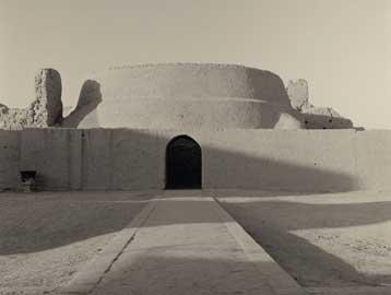China #20, Ancient city of Gaochang, Buddhist Temple, Tupan - 2001