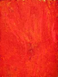 Mario Arlati, ROSSO 0120415, 2012, tecnica mista su tela, 240x190cm._ ph.©Andrea Rossetti