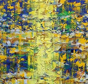 Fascio di luce, opera di Pietra Barrasso