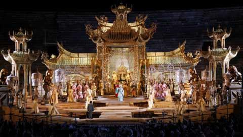 Turandot atto II