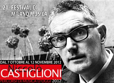 Locandina Festival Milano Musica