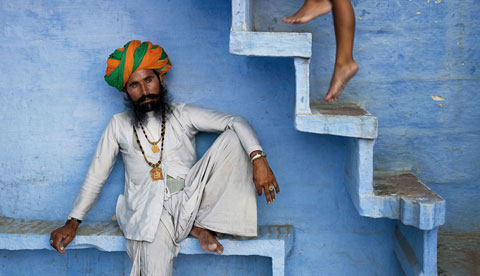 Foto di Steve McCurry, Jodhpur, Rajasthan, India, 2005.